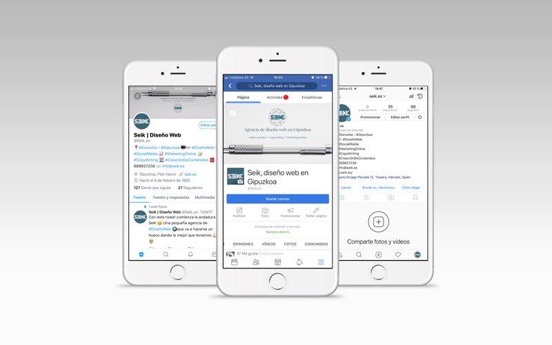 seik redes sociales en gipuzkoa en tres iphone