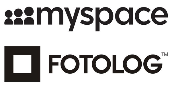 My Space + Fotolog Logos redes sociales seik agencia de diseño web en gipuzkoa gestion de redes sociales