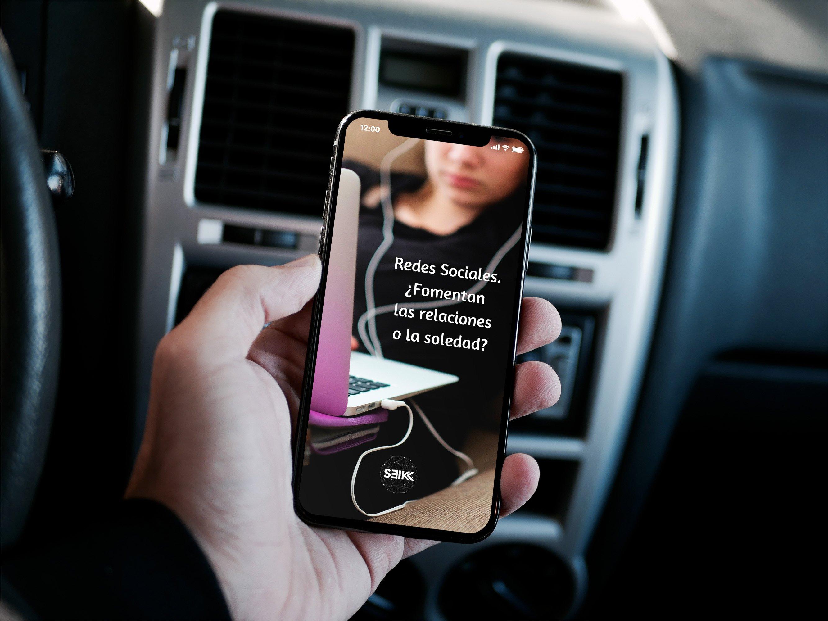 redes sociales fomentan compañia o soledad iphone x seik agencia de diseño web y redes sociales en gipuzkoa