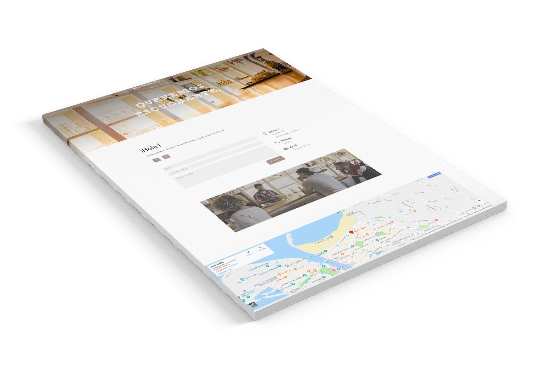 seik diseño web en gipuzkoa proyectos beach coffee