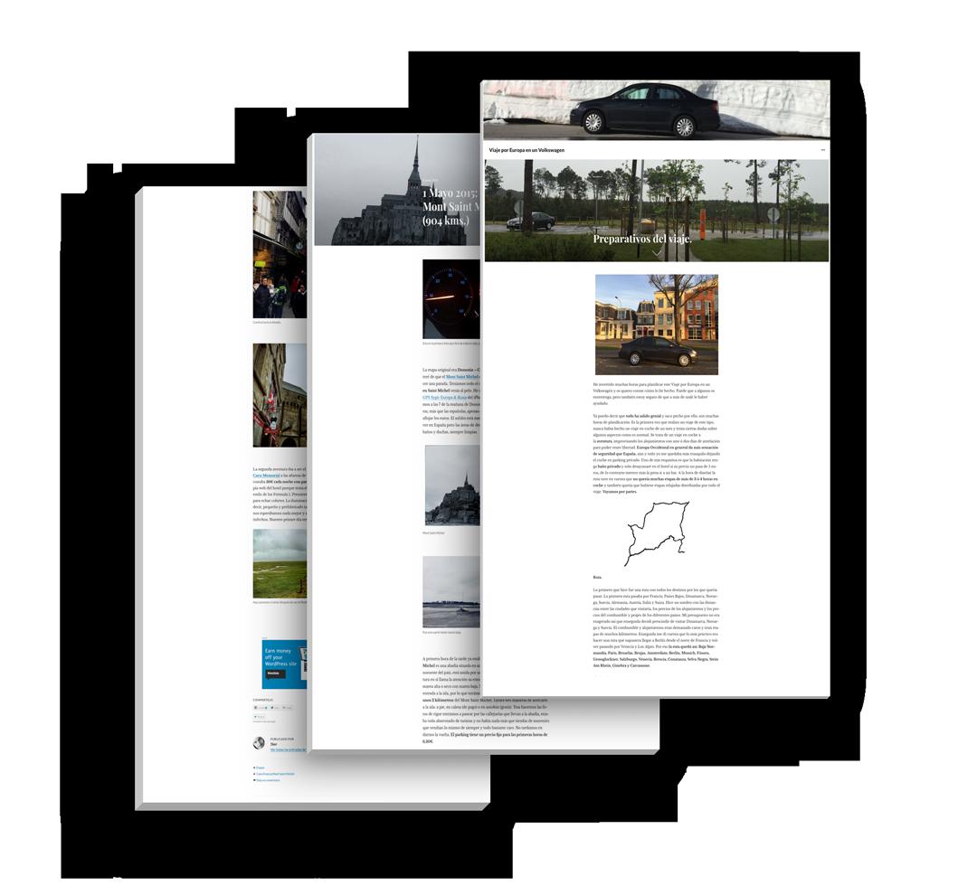 portfolio viaje por europa en un volkswagen en seik.es diseño web y redes sociales en gipuzkoa 1