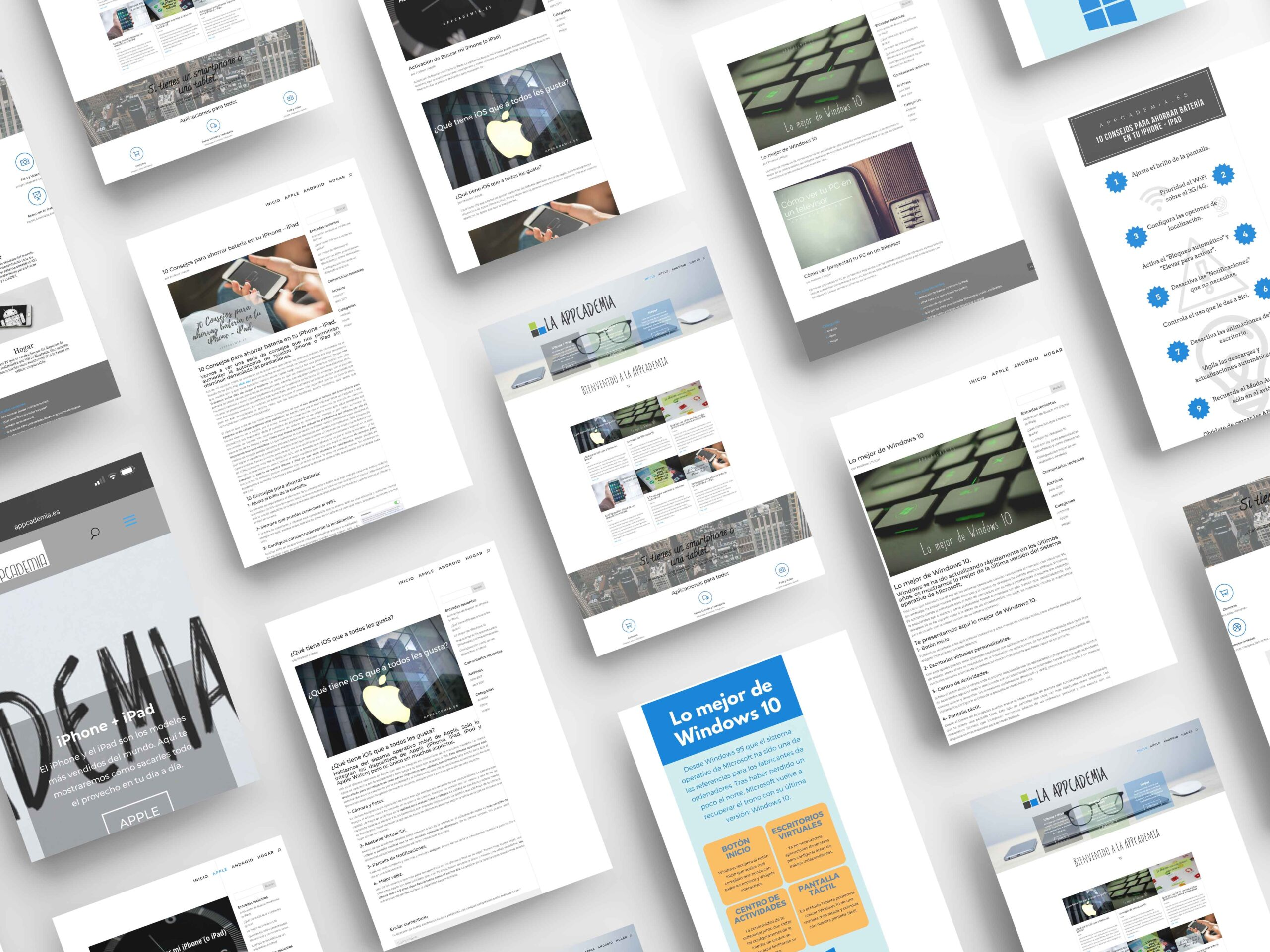 appcademia.es diseño web seik mockup
