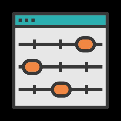 icono diseño web a medida y personalizado