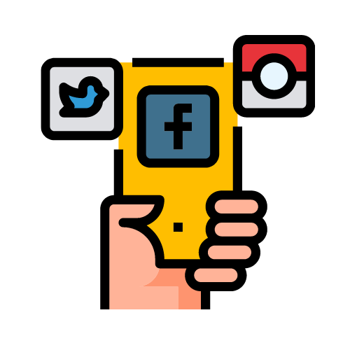 icono redes sociales gestión seik diseño web
