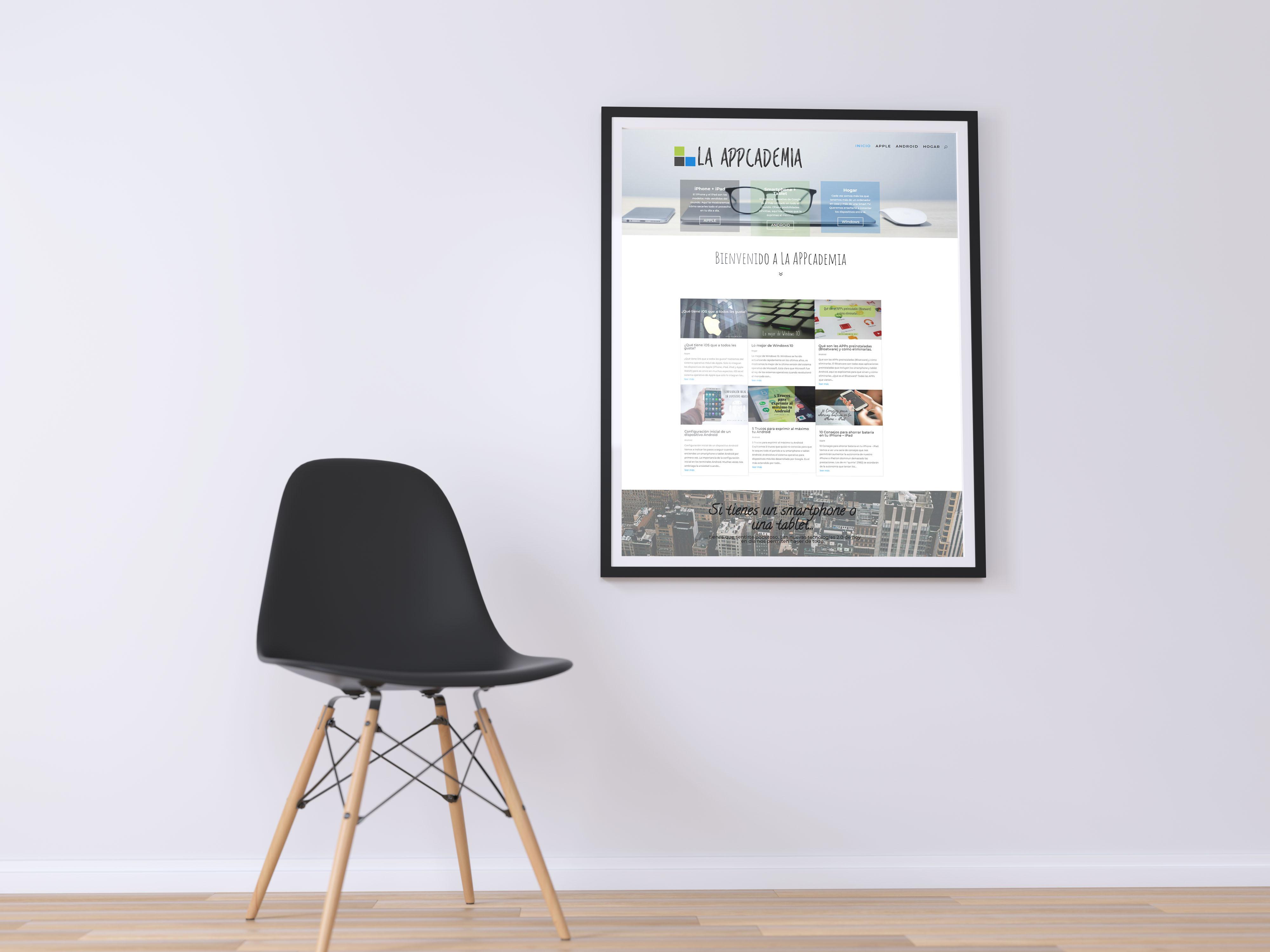 poster appcademia diseño web seik