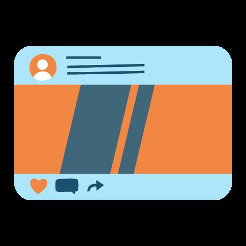 servicios redes sociales post publicaciones regulares seik